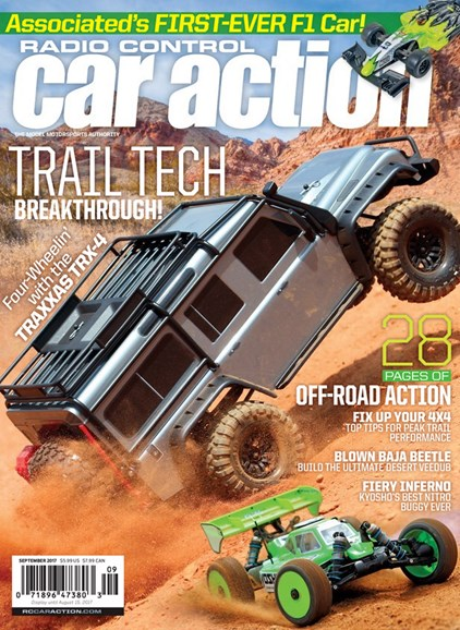 Radio Control Car Action Cover - 9/1/2017