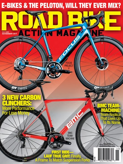 Road Bike Action Cover - 11/1/2017