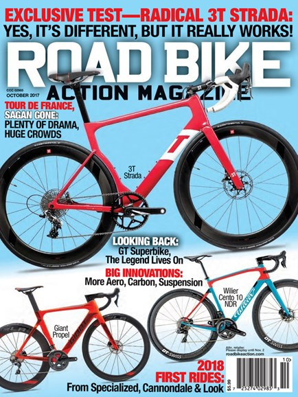 Road Bike Action Cover - 10/1/2017