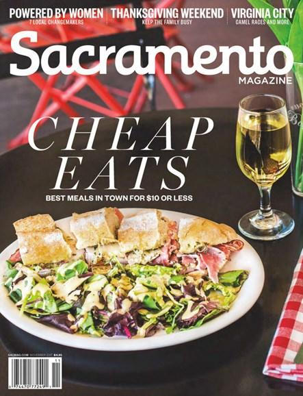 Sacramento Cover - 11/1/2017
