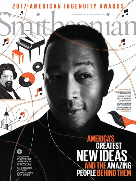 Smithsonian Cover - 12/1/2017