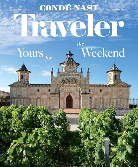 Condé Nast Traveler Cover - 12/1/2017