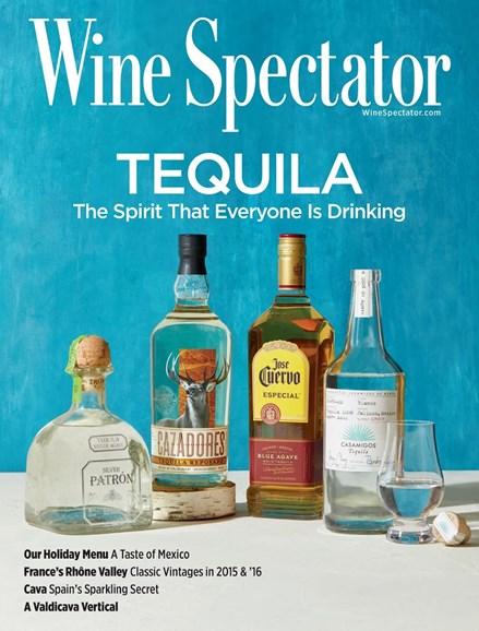 Wine Spectator Cover - 11/30/2017