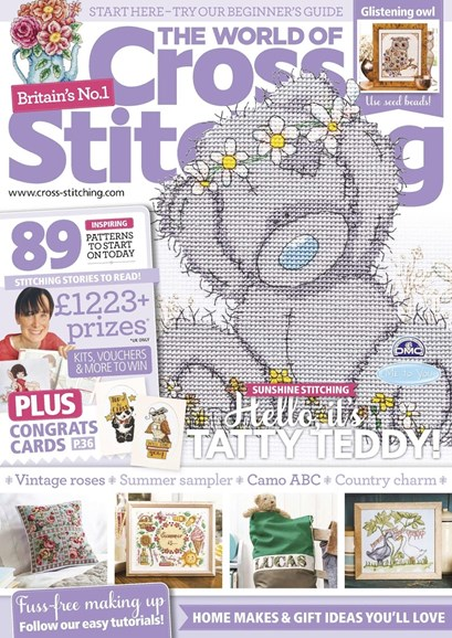The World of Cross Stitching Cover - 7/1/2017