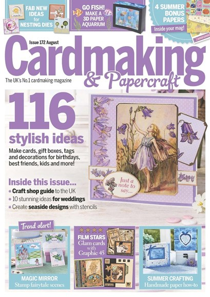 CardMaking & PaperCrafts Cover - 8/1/2017