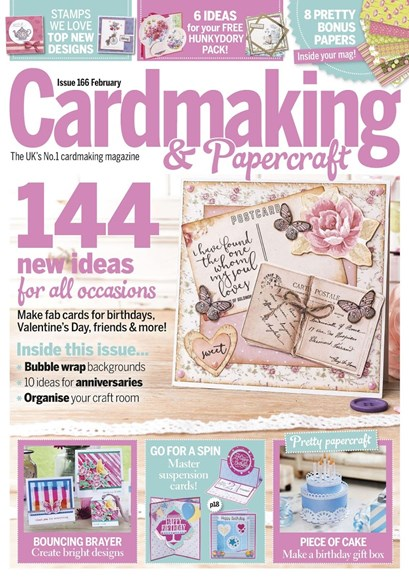 CardMaking & PaperCrafts Cover - 2/1/2017