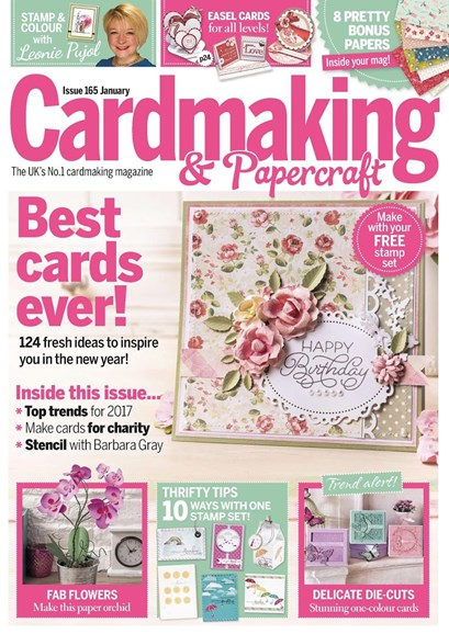 CardMaking & PaperCrafts Cover - 1/1/2017