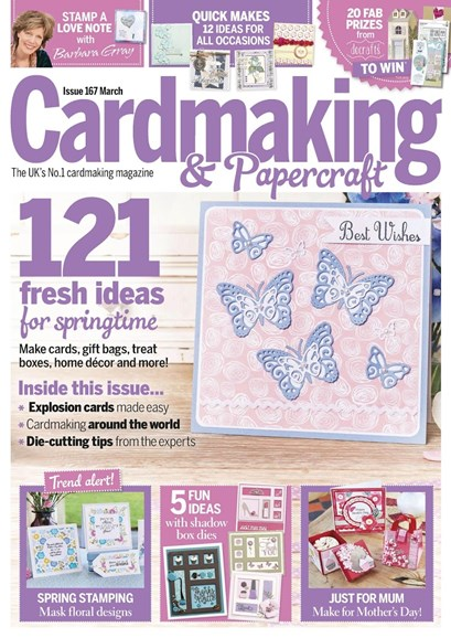 CardMaking & PaperCrafts Cover - 3/1/2017
