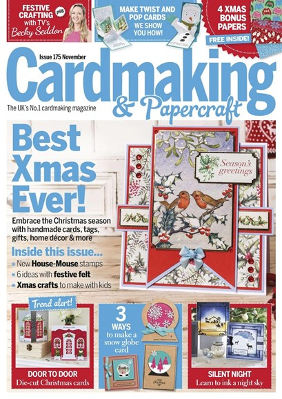 CardMaking & PaperCrafts Cover - 11/1/2017