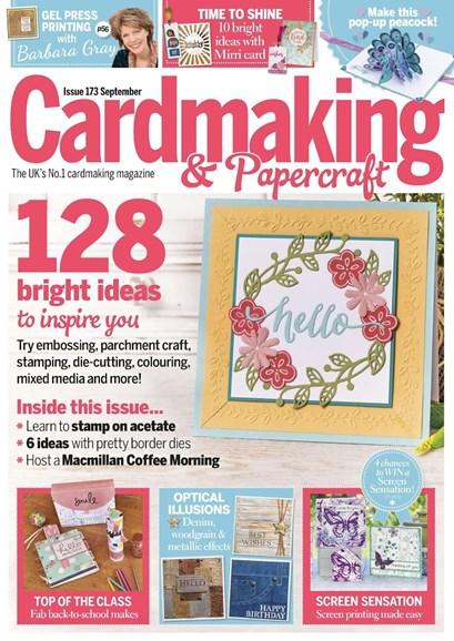CardMaking & PaperCrafts Cover - 9/1/2017