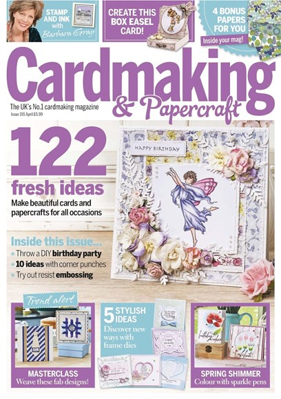 CardMaking & PaperCrafts Cover - 4/1/2016