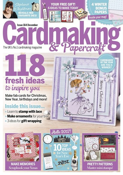 CardMaking & PaperCrafts Cover - 12/1/2016