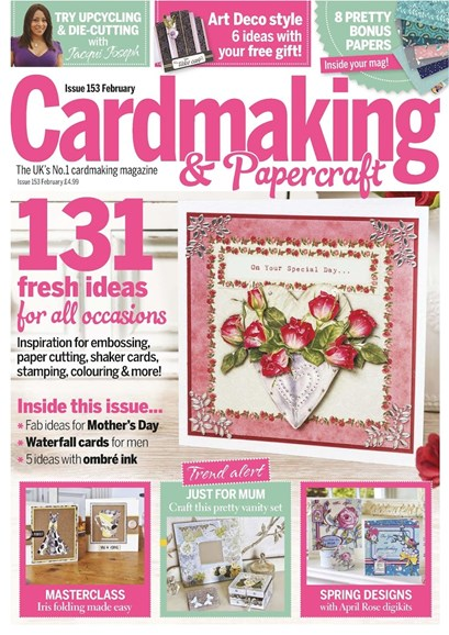 CardMaking & PaperCrafts Cover - 2/1/2016