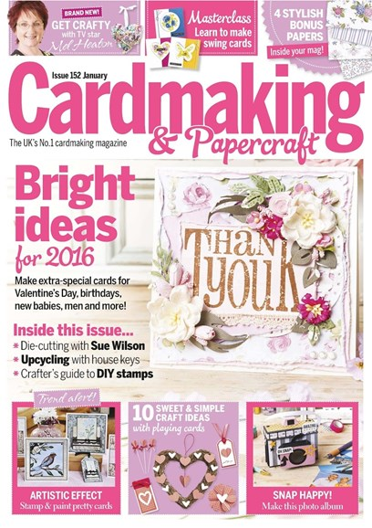 CardMaking & PaperCrafts Cover - 1/1/2016