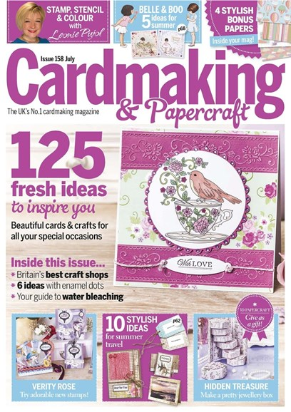 CardMaking & PaperCrafts Cover - 7/1/2016