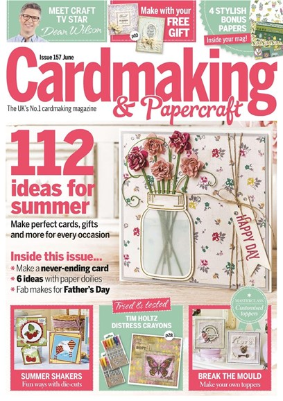 CardMaking & PaperCrafts Cover - 6/1/2016