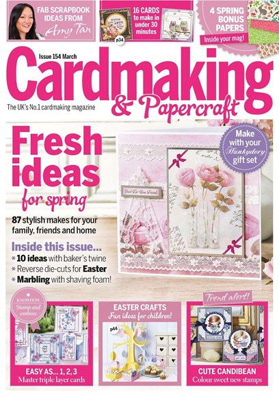CardMaking & PaperCrafts Cover - 3/1/2016
