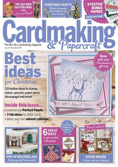 CardMaking & PaperCrafts Cover - 11/1/2016