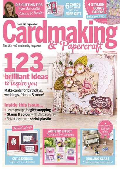 CardMaking & PaperCrafts Cover - 9/1/2016