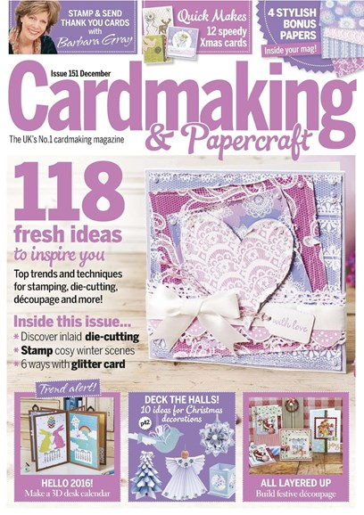CardMaking & PaperCrafts Cover - 12/1/2015