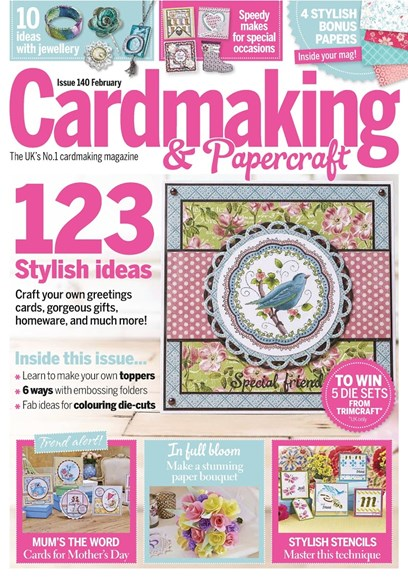 CardMaking & PaperCrafts Cover - 2/1/2015
