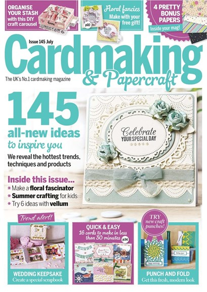 CardMaking & PaperCrafts Cover - 7/1/2015