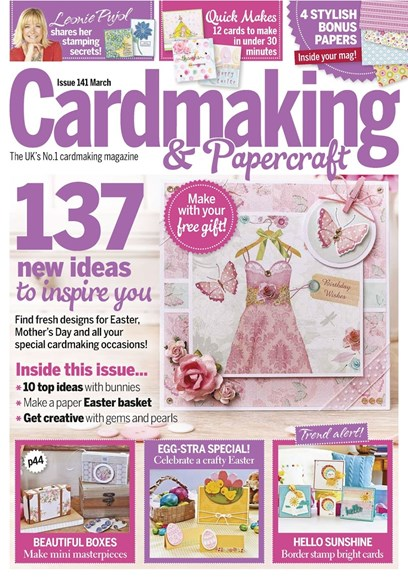 CardMaking & PaperCrafts Cover - 3/1/2015