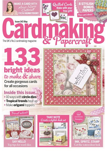 CardMaking & PaperCrafts Cover - 5/1/2015