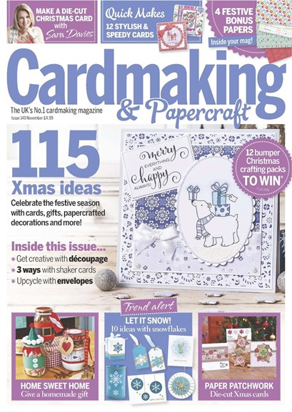 CardMaking & PaperCrafts Cover - 11/1/2015