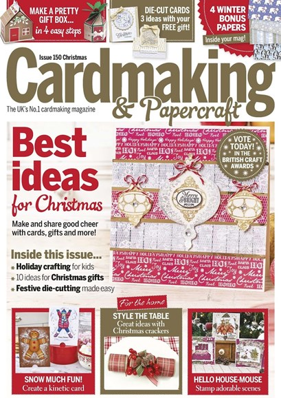 CardMaking & PaperCrafts Cover - 12/25/2015