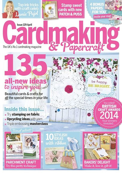 CardMaking & PaperCrafts Cover - 4/1/2014