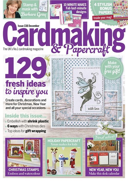 CardMaking & PaperCrafts Cover - 12/1/2014