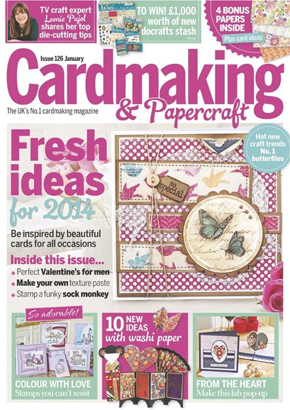 CardMaking & PaperCrafts Cover - 1/1/2014