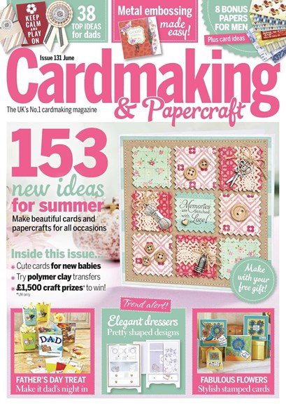 CardMaking & PaperCrafts Cover - 6/1/2014