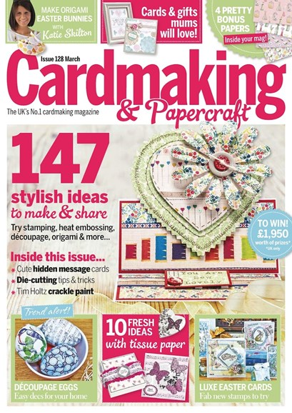 CardMaking & PaperCrafts Cover - 3/1/2014