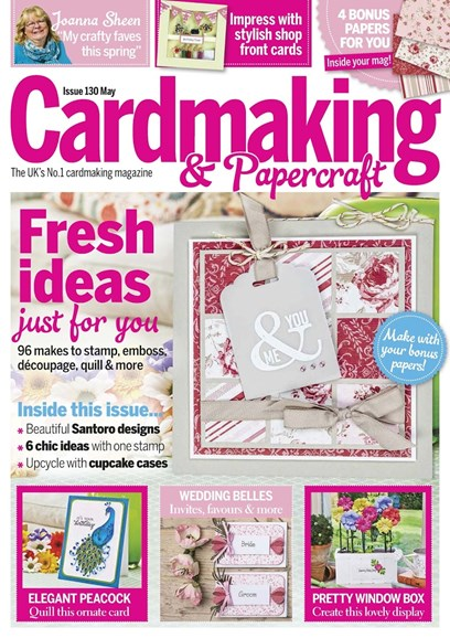 CardMaking & PaperCrafts Cover - 5/1/2014
