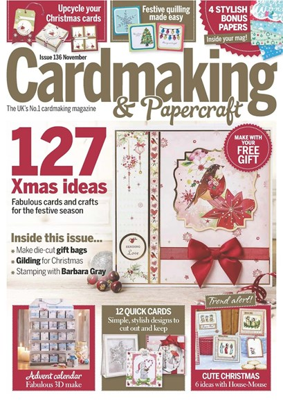 CardMaking & PaperCrafts Cover - 11/1/2014