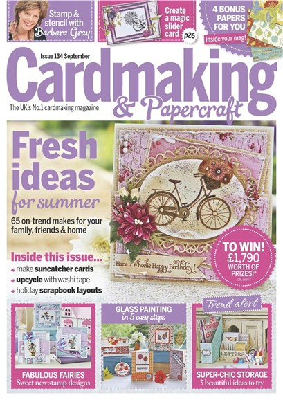 CardMaking & PaperCrafts Cover - 9/1/2014