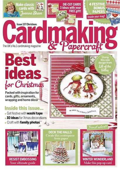 CardMaking & PaperCrafts Cover - 12/25/2014
