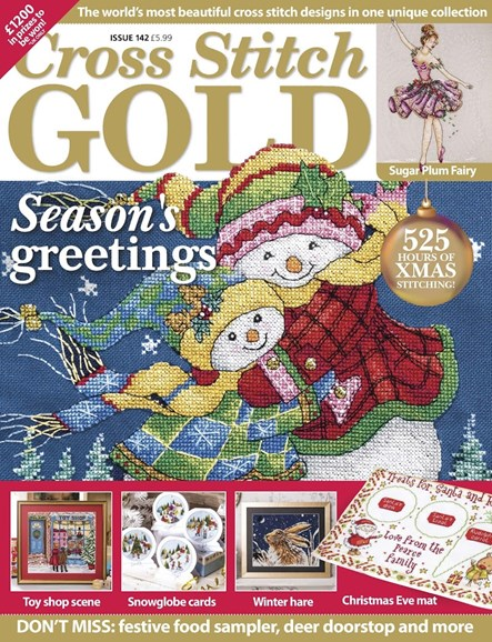 Cross Stitch Gold Cover - 10/1/2017