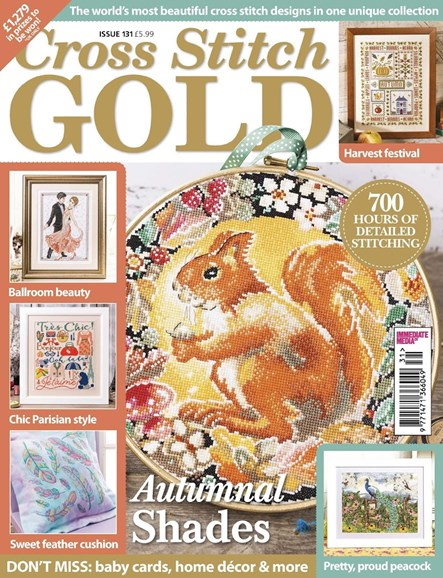 Cross Stitch Gold Cover - 8/1/2016