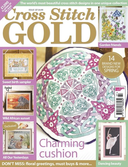 Cross Stitch Gold Cover - 2/1/2016