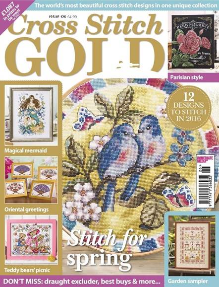 Cross Stitch Gold Cover - 1/1/2016