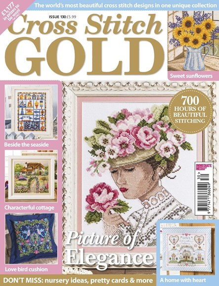 Cross Stitch Gold Cover - 6/1/2016