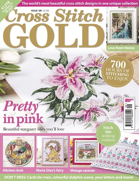 Cross Stitch Gold Cover - 5/1/2016