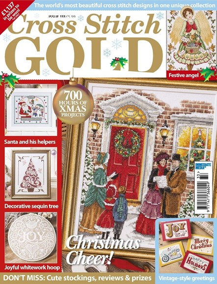 Cross Stitch Gold Cover - 10/1/2016