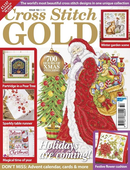Cross Stitch Gold Cover - 9/1/2016