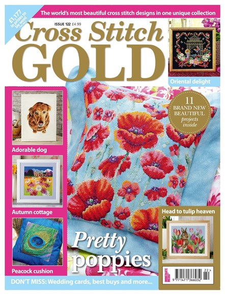Cross Stitch Gold Cover - 8/1/2015