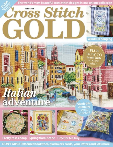 Cross Stitch Gold Cover - 2/1/2015