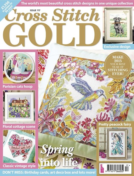 Cross Stitch Gold Cover - 1/1/2015